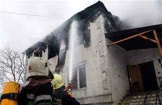 مقتل 15 وإصابة 9  في حريق بدار رعاية أوكرانية
