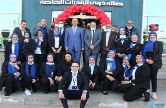 وزير الرياضة العراقي يشيد بمركز شباب الجزيرة وإمكاناته