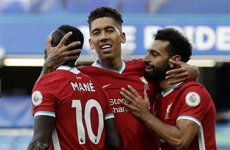 محمد صلاح يشارك بديلا مع ليفربول أمام بيرنلي
