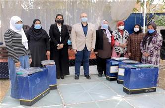 توزيع هدايا زواج عينية على عرائس ضمن مبادرة شتاء دافئ |صور