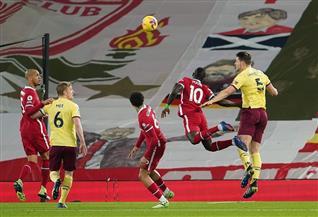 ليفربول يتلقى أول هزيمة على أرضه بالدورى الإنجليزي منذ 2017