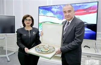 حاكم طشقند يطمح في نشر الثقافة المصرية في بلاده بما في ذلك الطعام والفنون والأزياء  صور
