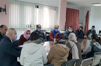 القوى العاملة بالإسكندرية تستقبل العمالة العائدة من الخارج لإعادة دمجهم في سوق العمل| صور