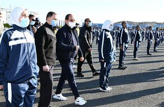 الرئيس السيسي يتفقد أكاديمية الشرطة فجر اليوم.. ويطلع على منظومة تدريب الطلبة |صور