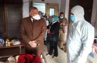 """خروج 56 متعافيا من الإصابة بـ""""كورونا"""" من مستشفيات العزل في الغربية"""
