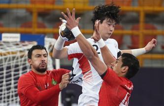 المغرب تتقدم على كوريا الجنوبية في الشوط الأول لمونديال اليد 15-14