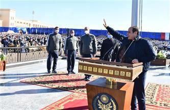 المتحدث الرئاسي ينشر فيديو لجولة الرئيس السيسي التفقدية بأكاديمية الشرطة