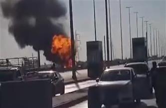 """نيابة الإسماعيلية تفتح تحقيقا عاجلا لبيان أسباب انفجار """"سيارة نقل أسطوانات الغاز"""""""