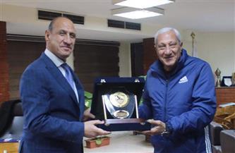 وزير الرياضة العراقي: سعيد بتواجدي في الزمالك.. وأتمنى نجاح المجلس الحالي