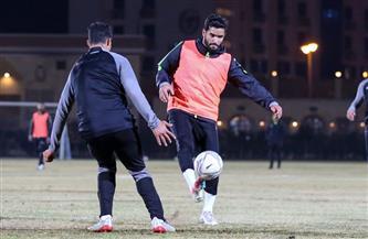 صالح جمعة يشارك في تدريبات سيراميكا