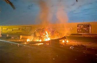 سقوط صواريخ قرب مطار بغداد الدولي بمنطقة لـ«القوات الأمريكية»
