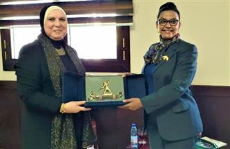 جامع تبحث مع وزيرة المالية السودانية القيود الجمركية ومستقبل العلاقات الاقتصادية المشتركة| صور