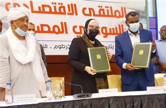 تعاون بين مصر والسودان للنهوض بقطاع المشروعات الصغيرة والتراثية
