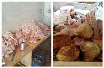 إعدام 127 كيلو لحوم فاسدة قبل بيعها للمواطنين بسوهاج