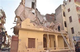 النيابة تباشر التحقيق في واقعة انهيار منزل من طابقين بسوهاج