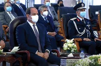 الرئيس السيسي يشاهد فيلما تسجيليا بعنوان «كنوز مصر»