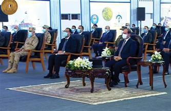 الرئيس السيسي يشهد افتتاح عدة مشروعات تنموية عبر الفيديو كونفرانس