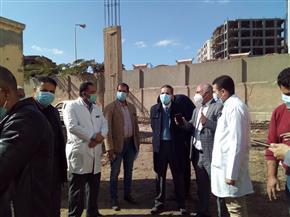 محافظ الغربية يتفقد الأعمال الإنشائية والخدمات الصحية بمستشفى حميات المحلة | صور