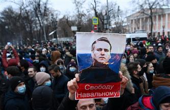 القبض على المئات في تظاهرات مؤيدة لـ «نافالني» بروسيا