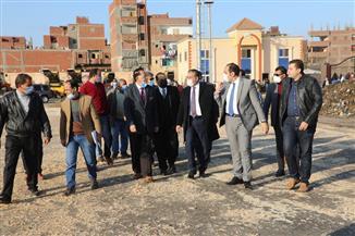 محافظ المنوفية وعدد من نواب البرلمان يتفقدون سير العمل بمصنع تدوير القمامة |صور