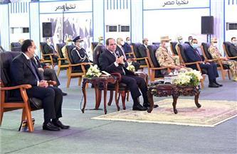 الموقع الرئاسى ينشر فيديو افتتاح الرئيس السيسي لمشروع الفيروز للاستزراع السمكى ببورسعيد