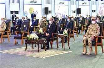 أبرز تصريحات الرئيس السيسي خلال افتتاح مشروعات قومية ببورسعيد | فيديو