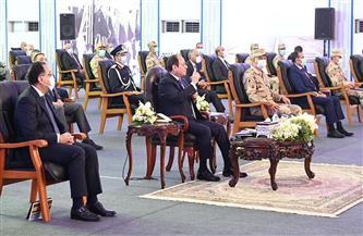 الرئيس السيسي يشاهد فيلمًا تسجيليًا بعنوان «أمواج الخير» حول تطوير بحيرة المنزلة