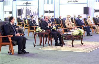 الرئيس السيسي: تطوير قطاع الألبان يتم وفق أعلى المعايير والمواصفات