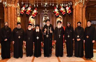 البابا تواضروس يجتمع بسكرتارية المجمع المقدس.. تعرف على التفاصيل | صور