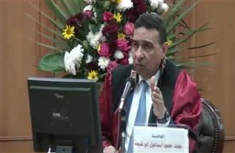 """""""تجارة كفر الشيخ"""" تمنح سكرتير عام محافظة الفيوم درجة الماجستير"""