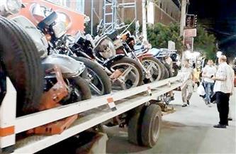 ضبط 3988 دراجة نارية مخالفة خلال أسبوع