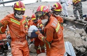 انتشال عامل  بعد 14 يوما من تحت الأرض