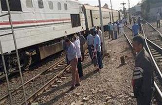 مصرع فتاة صدمها قطار خلال عبورها شريط السكة الحديد بالمحلة الكبرى