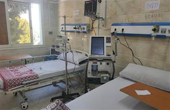 تشغيل قسم العناية المركزة بمستشفى الصدر بالخارجة   صور
