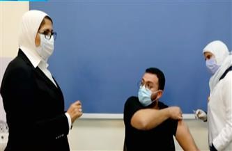 وزيرة الصحة تشهد انطلاق تطعيم الأطقم الطبية بجرعات لقاح فيروس كورونا