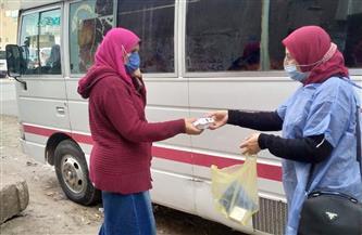 الغربية: تقديم الخدمة الطبية لـ 500 حالة ضمن المبادرة الرئاسية لمتابعة العزل المنزلي | صور