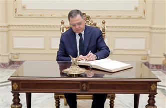 وزير الداخلية يسجل كلمة شكر وتقدير للرئيس السيسي بقصر عابدين بمناسبة عيد الشرطة
