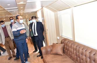 محافظ أسوان يتفقد الفنادق واللنشات السياحية لمتابعة الإجراءات الاحترازية ضد كورونا| صور