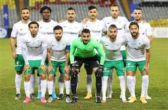 التعادل السلبي يحسم نتيجة الشوط الأول من مباراة المقاولون العرب والمصري