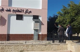 محافظ شمال سيناء يتابع التجهيزات الخاصة بالدفعة الأولى من «لقاح كورونا» | صور