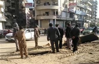 إصابة مواطن إثر انفجار خط غاز في المنصورة