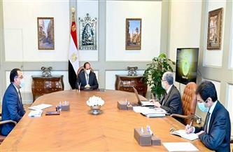 الرئيس السيسي يستعرض مستجدات مشروعات قطاع الكهرباء على مستوى الجمهورية