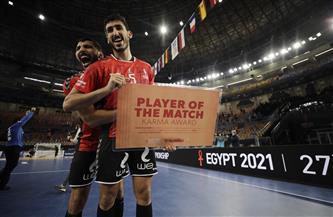 يحيي خالد رجل مباراة مصر وسلوفينيا بمونديال اليد