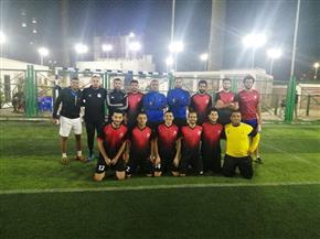 باسوس تحتفل بتأهل فريق الميني فوتبول إلى الدوري الممتاز