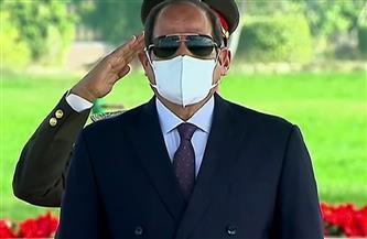 الرئيس السيسي يصل مقر احتفال وزارة الداخلية بعيد الشرطة