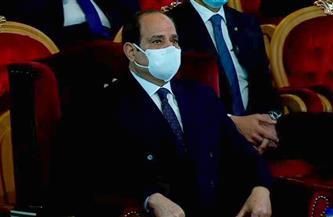 الرئيس السيسي يشهد عرضا فنيا حول بطولة رجال الشرطة في مواجهة الاحتلال