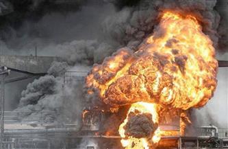 انفجار محطة غاز وسط مدينة «البيضاء» اليمنية.. وأنباء عن ضحايا