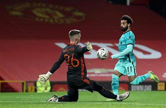 رغم الخسارة.. محمد صلاح أفضل لاعبي ليفربول أمام مانشستر.. وكسر عقدة «أولد ترافورد» | صور