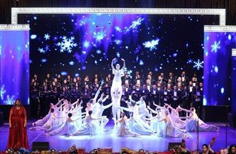 أغاني سيناترا وبوتشيلي وهيوستن وتابلوهات للباليه على المسرح الكبير في ليلتين
