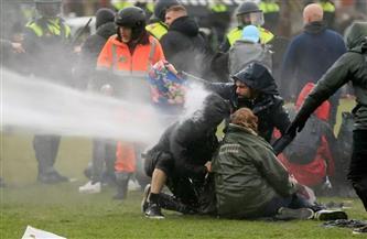 إدانات بهولندا لأعمال الشغب الواسعة بالتزامن مع بدء حظر التجوال لمكافحة كورونا